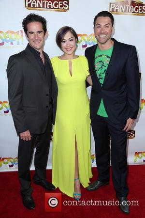 Andy Blankenbuehler, Diana Degarmo and Ace Young