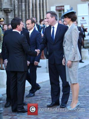 David Cameron, Samantha Cameron and Manuel Valis