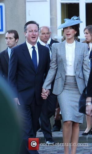 David Cameron and Samantha Cameron