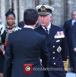 Prince Charles, Prince of Wales and Manuel Valls