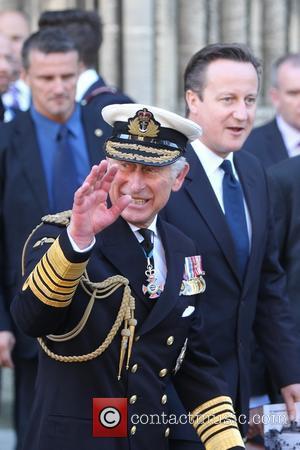 Prince Charles, Peince Of Wales and David Cameron