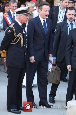 Prince Charles, Prince Of Wales and David Cameron