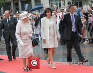 The Queen, Anne Hidalgo, Prince Philip and Queen Elizabeth Ii
