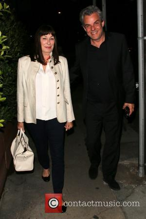 Anjelica Huston and Danny Huston - Anjelica Huston and Danny Huston leave Giorgio Baldi restaurant in Santa Monica - Los...
