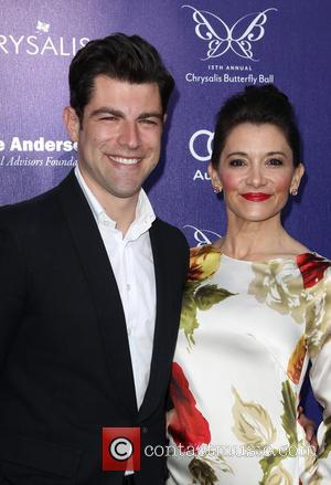 Max Greenfield and Tess Sanchez - 13th Annual Chrysalis Butterfly Ball held at a private residence in Bel Air -...