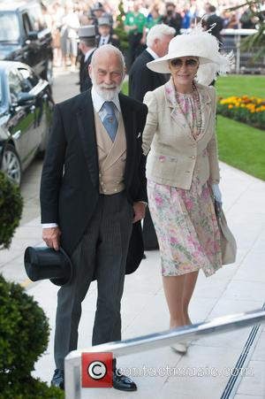 Princess Michael of Kent and Prince Michael of Kent - The Investec Epsom Derby held at the Epsom Downs Racecourse...