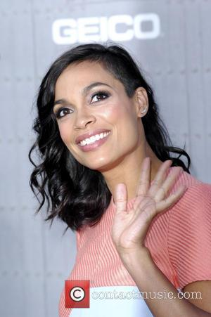 Rosario Dawson - Spike TV's 'Guys Choice' 2014 at Sony Pictures Studios - Arrivals - Los Angeles, California, United States...