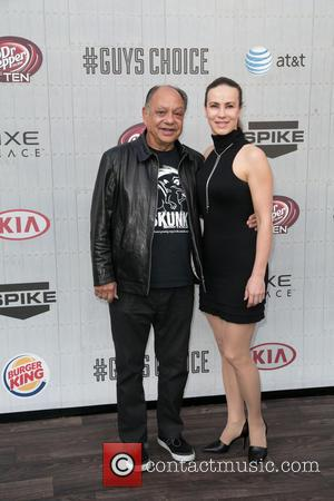 Cheech Marin and Natasha Marin