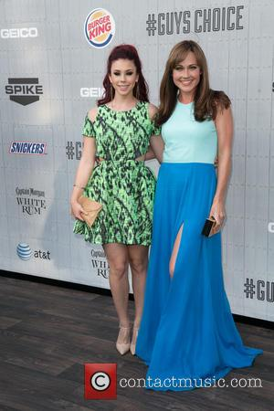 Jillian Rose Reed and Nikki DeLoach - Spike TV's 'Guys Choice' 2014 at Sony Pictures Studios - Arrivals - Los...