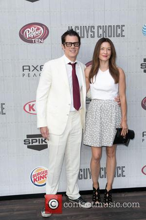Johnny Knoxville and Naomi Nelson - Spike TV's 'Guys Choice' 2014 at Sony Pictures Studios - Arrivals - Los Angeles,...