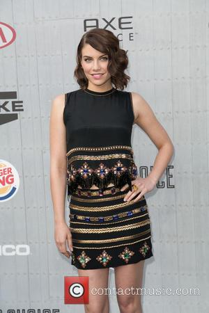 Lauren Cohan - Spike TV's 'Guys Choice' 2014 at Sony Pictures Studios - Arrivals - Los Angeles, California, United States...