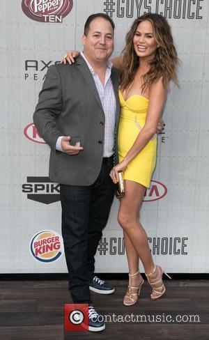 Josh Capon and Chrissy Teigen