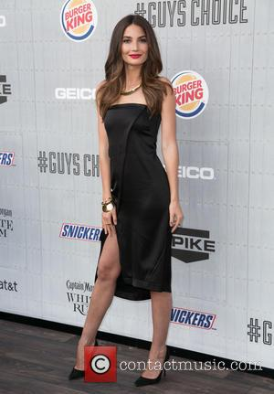 Lily Aldridge - Spike TV's 'Guys Choice' 2014 at Sony Pictures Studios - Arrivals - Los Angeles, California, United States...
