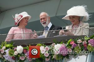 Prince Michael of Kent - The Investec Epsom Darby held at the Epsom Downs Racecourse. - London, United Kingdom -...