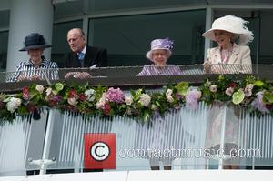 Prince Philip, The Duke Of Edinburgh, The Queen, Queen Elizabeth Ii and Princess Michael Of Kent