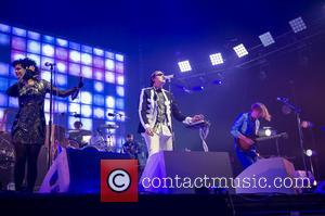 Arcade Fire - Arcade Fire performing live in concert at Earls Court - London, United Kingdom - Sunday 8th June...