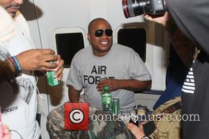 Xzibit - Gumball 3000 Flight from New York to Scotland - New York, New York, United States - Sunday 8th...