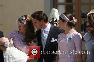 Christopher O'neill, Princess Madeleine Of Sweden, Princess Leonore and Princess Victoria Of Sweden