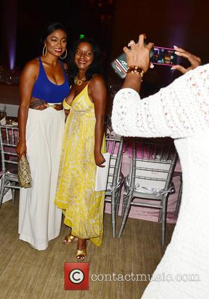 Tatyana Ali and Guest - Models walk the runway during the 'Catwalk For Charity' to benefit children of Haiti at...