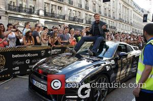 David Hasselhoff and Nissan Gt-r