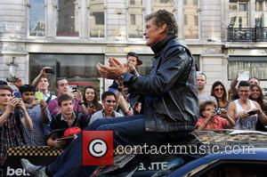 David Hasselhoff - The 2014 Gumball 3000 arrives on London's Regent Street.  Thousand's of people gathered on a very...