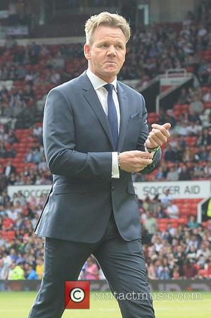 Gordon Ramsay - Soccer Aid at Old Trafford Manchester, UK - Manchester, United Kingdom - Sunday 8th June 2014