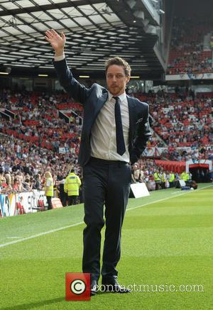 James McAvoy - Soccer Aid at Old Trafford Manchester, UK - Manchester, United Kingdom - Sunday 8th June 2014