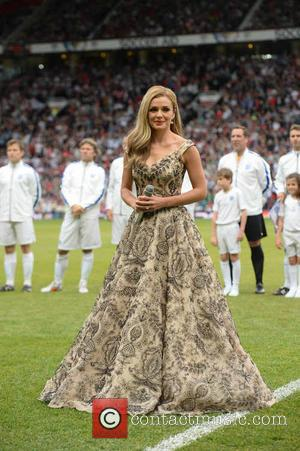 Katherine Jenkins - UNICEF UK Soccer Aid 2014 held at Old Trafford - Manchester, United Kingdom - Sunday 8th June...