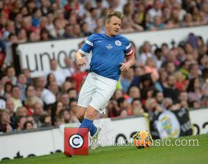 Gordon Ramsay - Soccer Aid 2014 at Old Trafford - Manchester, United Kingdom - Sunday 8th June 2014