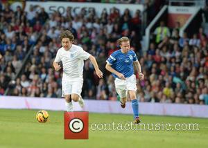 Mark Owen - Soccer Aid 2014 at Old Trafford - Manchester, United Kingdom - Sunday 8th June 2014