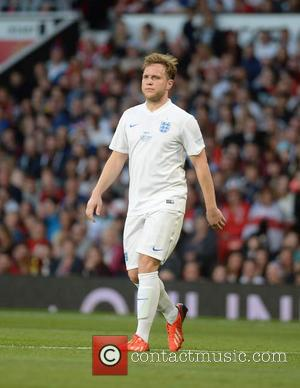 Olly Murs - Soccer Aid 2014 at Old Trafford - Manchester, United Kingdom - Sunday 8th June 2014