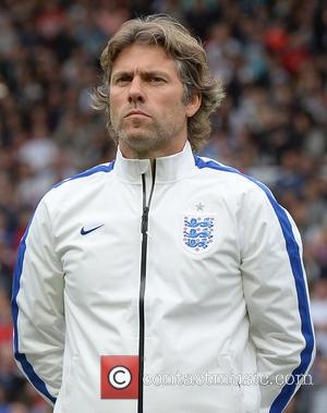 John Bishop - Soccer Aid 2014 at Old Trafford - Manchester, United Kingdom - Sunday 8th June 2014