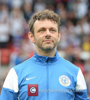 Michael Sheen - Soccer Aid 2014 at Old Trafford - Manchester, United Kingdom - Sunday 8th June 2014