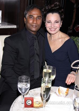 Shiva Ayyadurai and Fran Drescher