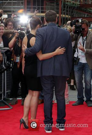 Annabel Scholey and Kevin Spacey - The European premiere of \NOW\ at The Empire Leicester Square - London, United Kingdom...