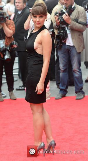 Annabel Scholey - 'Now' U.K. Premiere at Empire Leicester Square - Arrivals - London, United Kingdom - Monday 9th June...