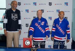 Kareem Abdul-jabbar, Mark Messier and Mariano Rivera