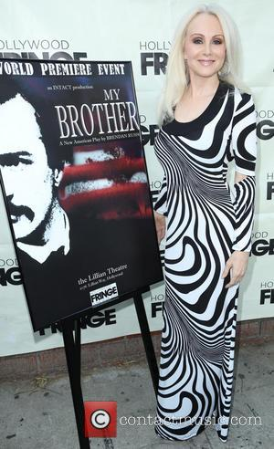 Donna Spangler - 'My Brother' play premiere at Lillian Theater - Arrivals - Los Angeles, California, United States - Monday...