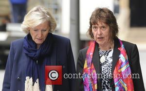 Rolf Harris, Jenny Harris and Sonia Woodley Qc