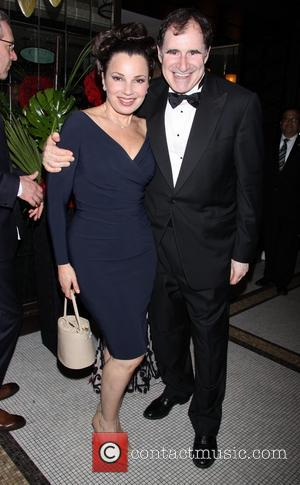 Fran Drescher and Richard Kind