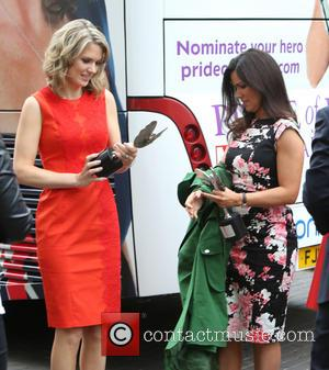 Charlotte Hawkins and Susanna Reid