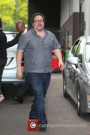 Jon Favreau - Celebrities at the ITV studios