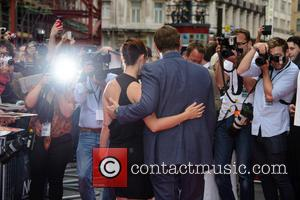 Annabel Scholey and Kevin Spacey - 'Now' European Premiere - ArrivalsWhere: London, United KingdomWhen: 08 June 2014 - London, United...
