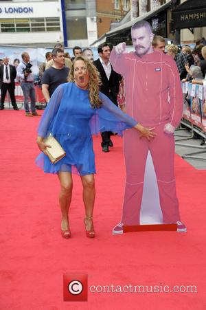 Lorraine Stanley - UK Premiere - 'The Hooligan Factory' at Odeon West End - Red Carpet Arrivals - London, United...