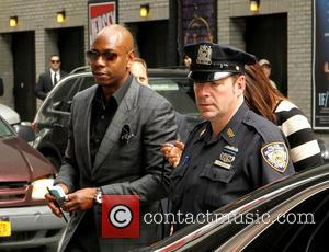 Dave Chappelle - Celebrities outside the Ed Sullivan Theater for their taping on the Late Show with David Letterman -...
