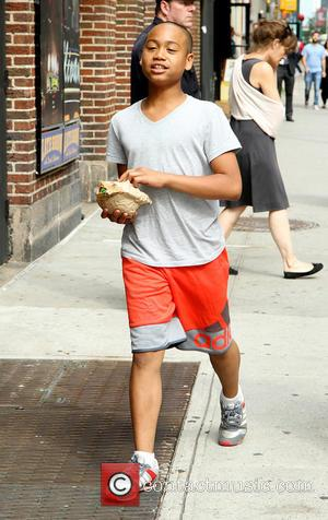 Ibrahim Chappelle - Celebrities outside the Ed Sullivan Theater for their taping on the Late Show with David Letterman -...