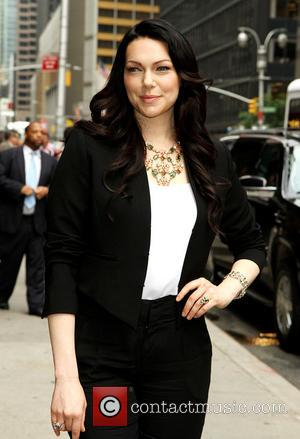 Laura Prepon - Celebrities outside the Ed Sullivan Theater for their taping on the Late Show with David Letterman -...