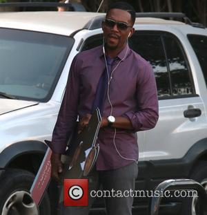 Bill Bellamy - Bill Bellamy on set for filming his new movie on Beverly Boulevard - Los Angeles, California, United...