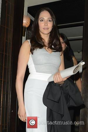Lauren Silverman - Celebrities at 34 restaurant - London, United Kingdom - Tuesday 10th June 2014