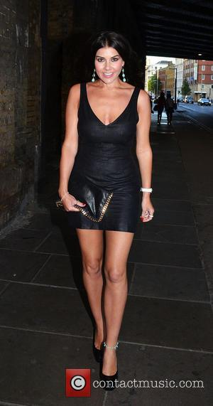 Imogen Thomas - Superdrug - 50th birthday party held at the Bankside Vault - Outside Arrivals - London, United Kingdom...